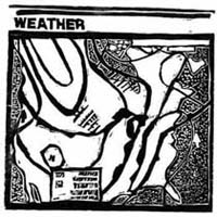 Weather Map [8 x 7 7/8 in.] 1988
